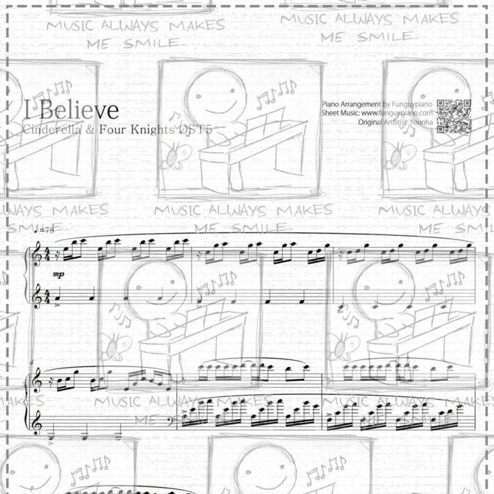 Cinderella & Four Knights OST5 – I Believe