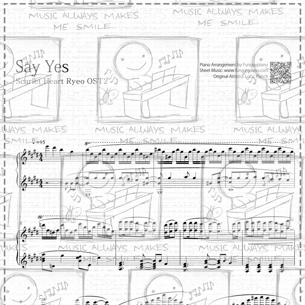 Say Yes [ Sheet Music / Midi