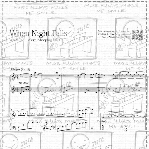 While You Were Sleeping OST1 - When Night Falls