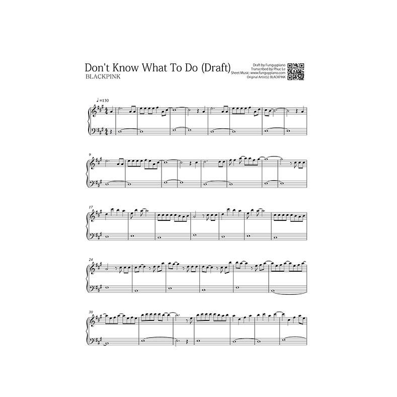 Blackpink K Pop Songs Free Piano Sheet Funguypiano